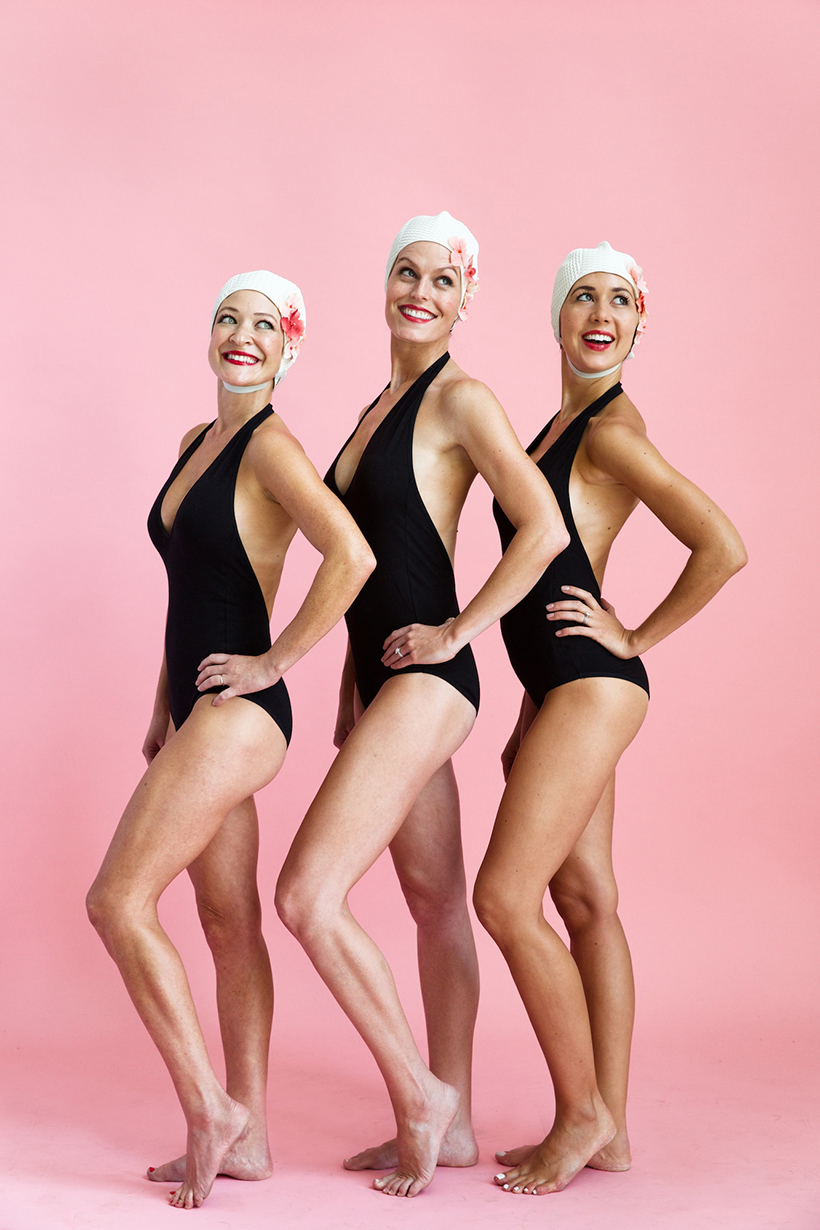 Diy Synchronized Swimmers Group Costume Camille Styles