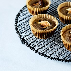Buckwheat Muffins with Royal Fig Jam