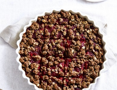 Cranberry Ginger Oat Bars