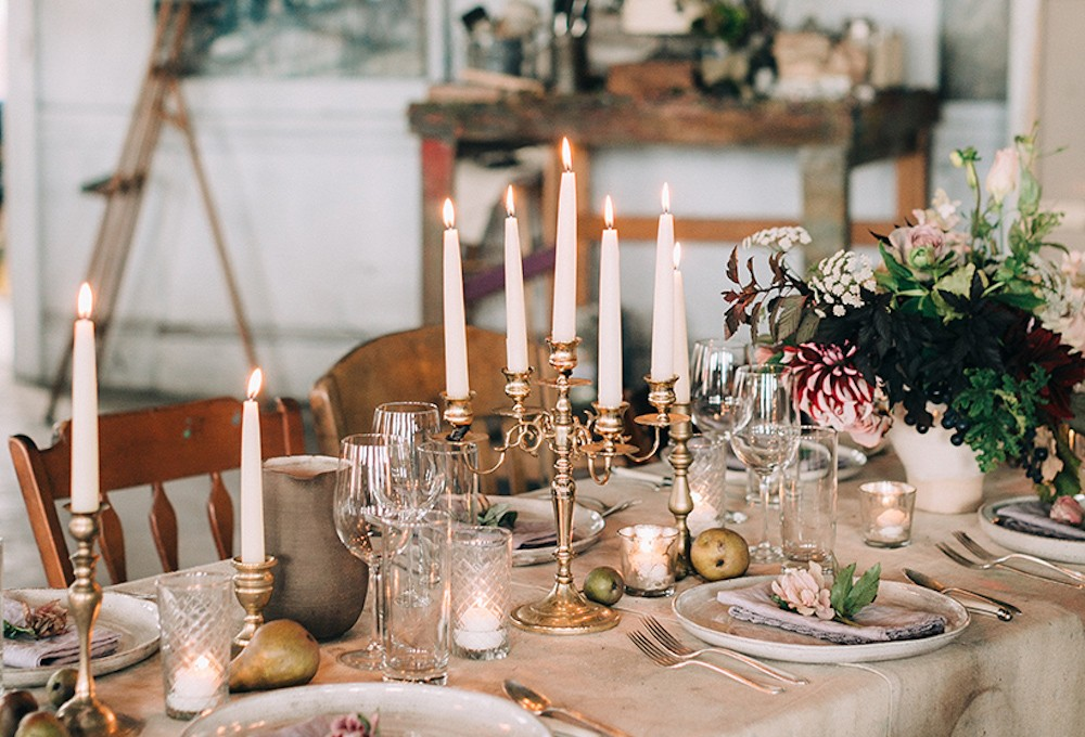 in LOVE with this wedding on Camille Styles