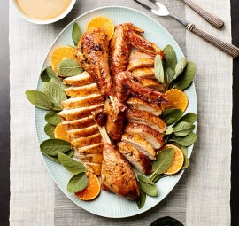 Foolproof Recipes for Thanksgiving: orange & sage turkey