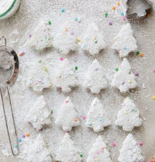 homemade funfetti christmas tree marshmallows