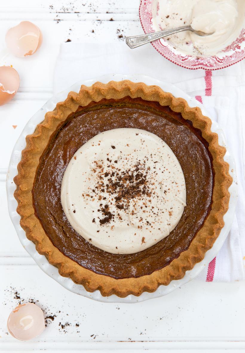 Gluten-Free Pumpkin Pie - Camille Styles