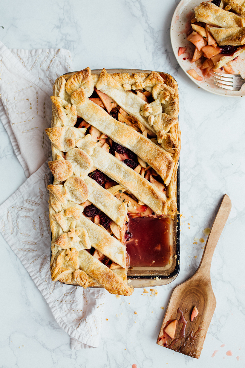 Simple & delicious slab pie -- perfect for get togethers!