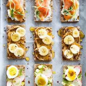 simple and healthy was a breakfast crackers
