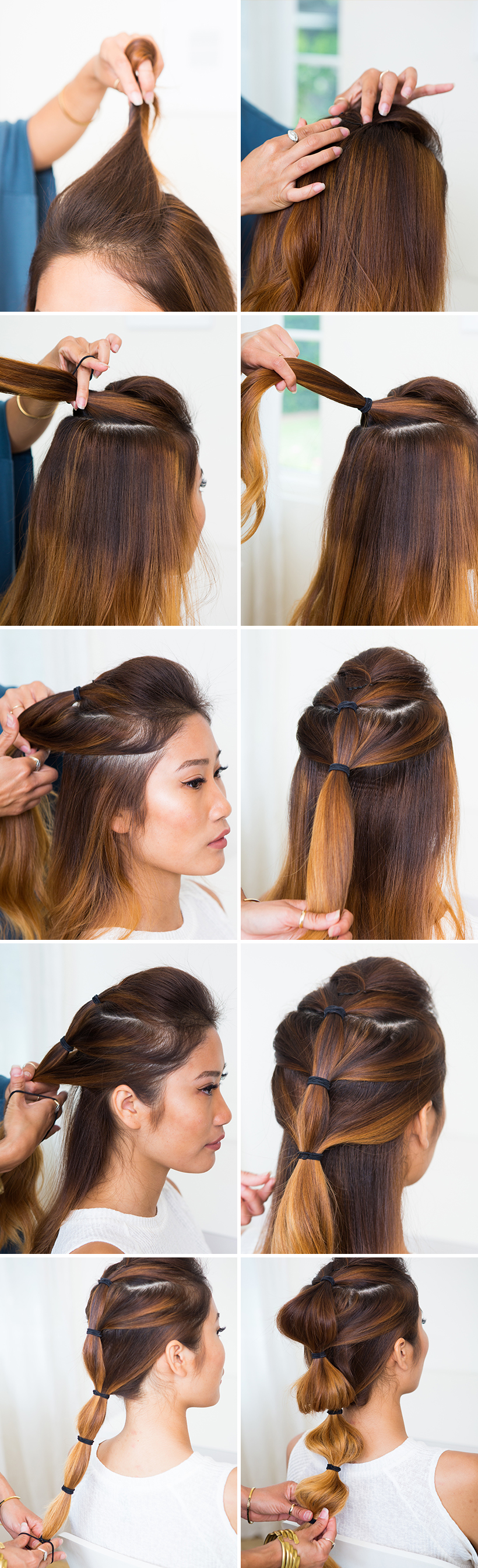 So fun! Love this hairstyle and want to try it