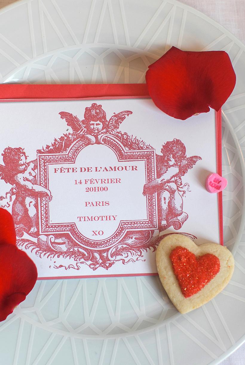 Classic Valentine's Invitation