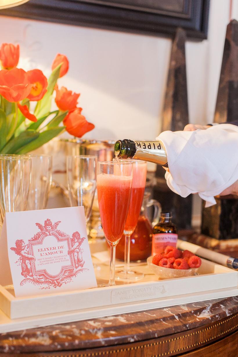 Elixir de L'amour - the perfect Valentine's cocktail