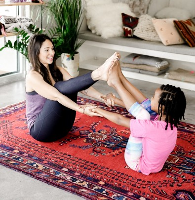 6 fun yoga moves to do with your kids