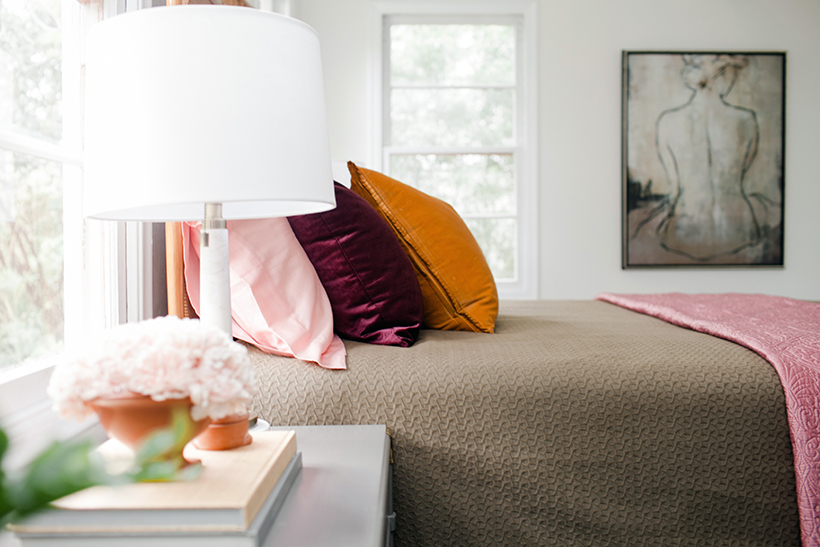 Claire Brody's Colorful Vintage Bungalow