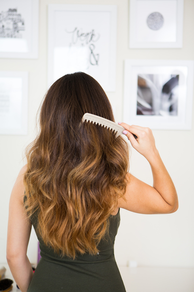 Are You Brushing Your Hair All Wrong Camille Styles