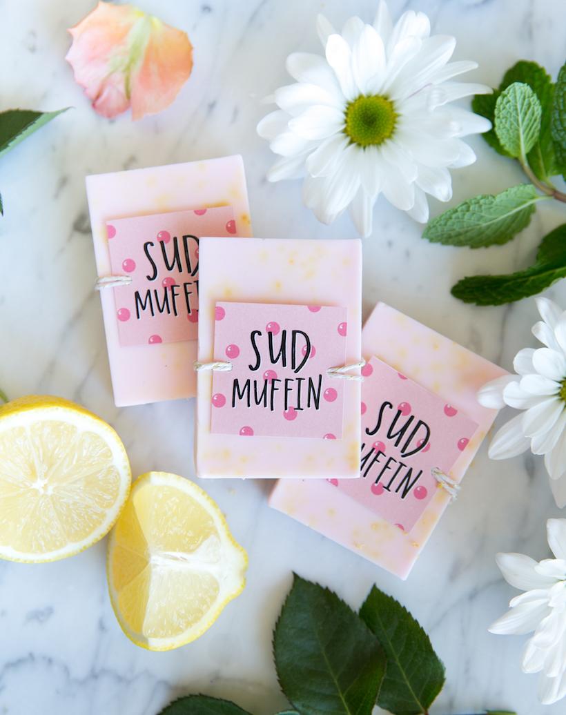 DIY bar soap for valentine's day!