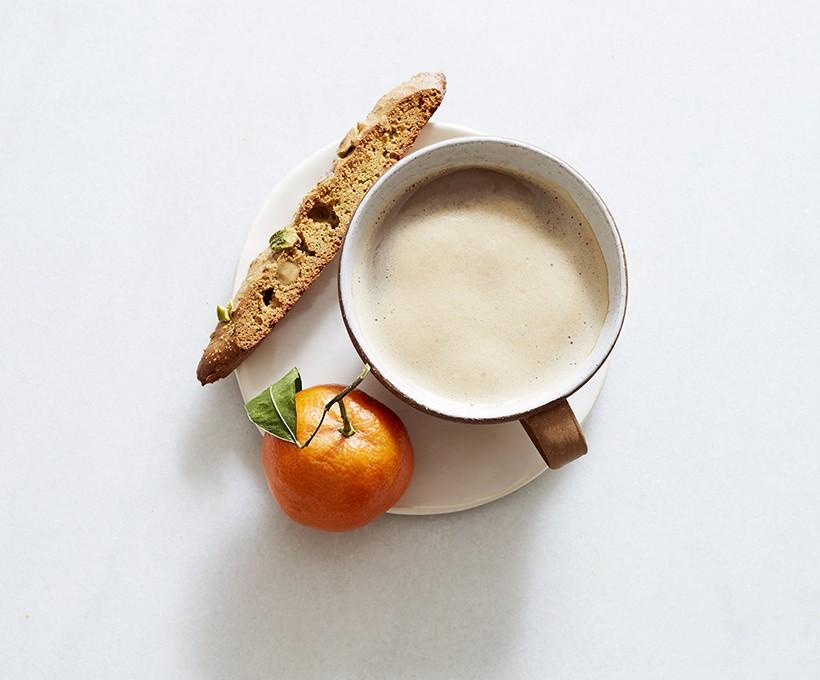 Pistachio Orange Blossom Biscotti