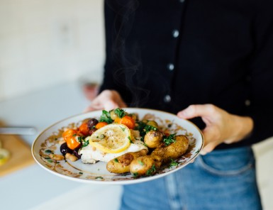 easy halibut en papillote recipe
