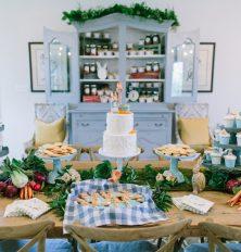 peter rabbit baby shower