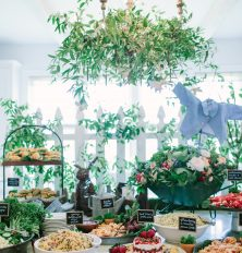 spring brunch buffet