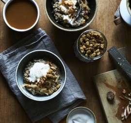 i may just replace my overnight oats obsession with this buckwheat porridge!