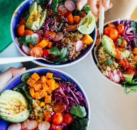 How to Throw a Rainbow Grain Bowl Potluck Party