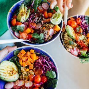 How to Throw a Rainbow Grain Bowl Potluck Party