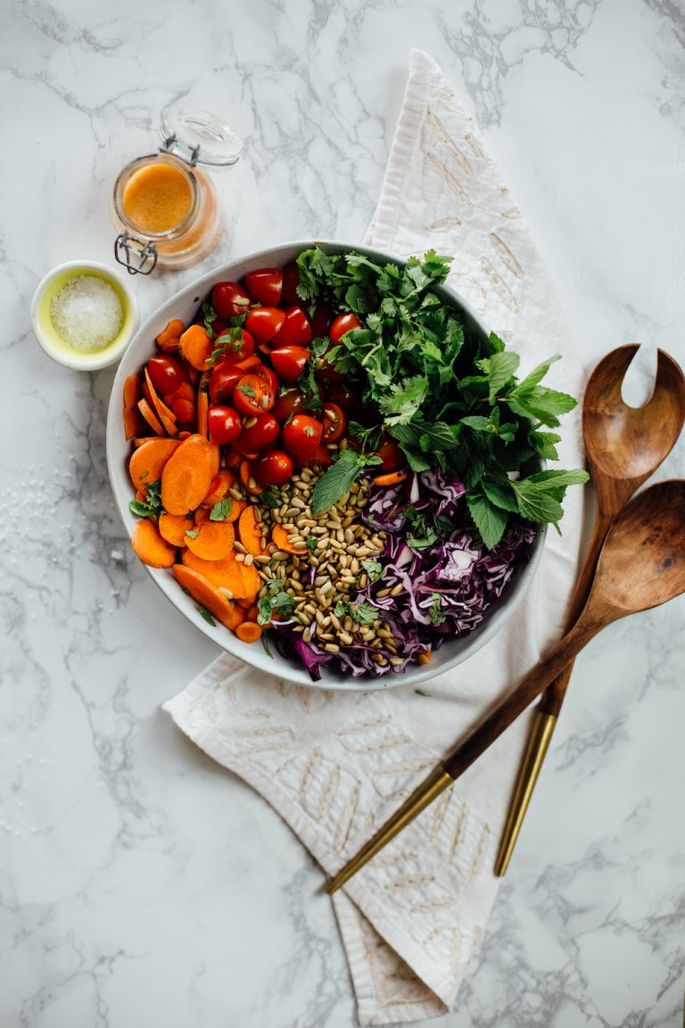 This Sunshine Salad Will Kickstart Your Detox