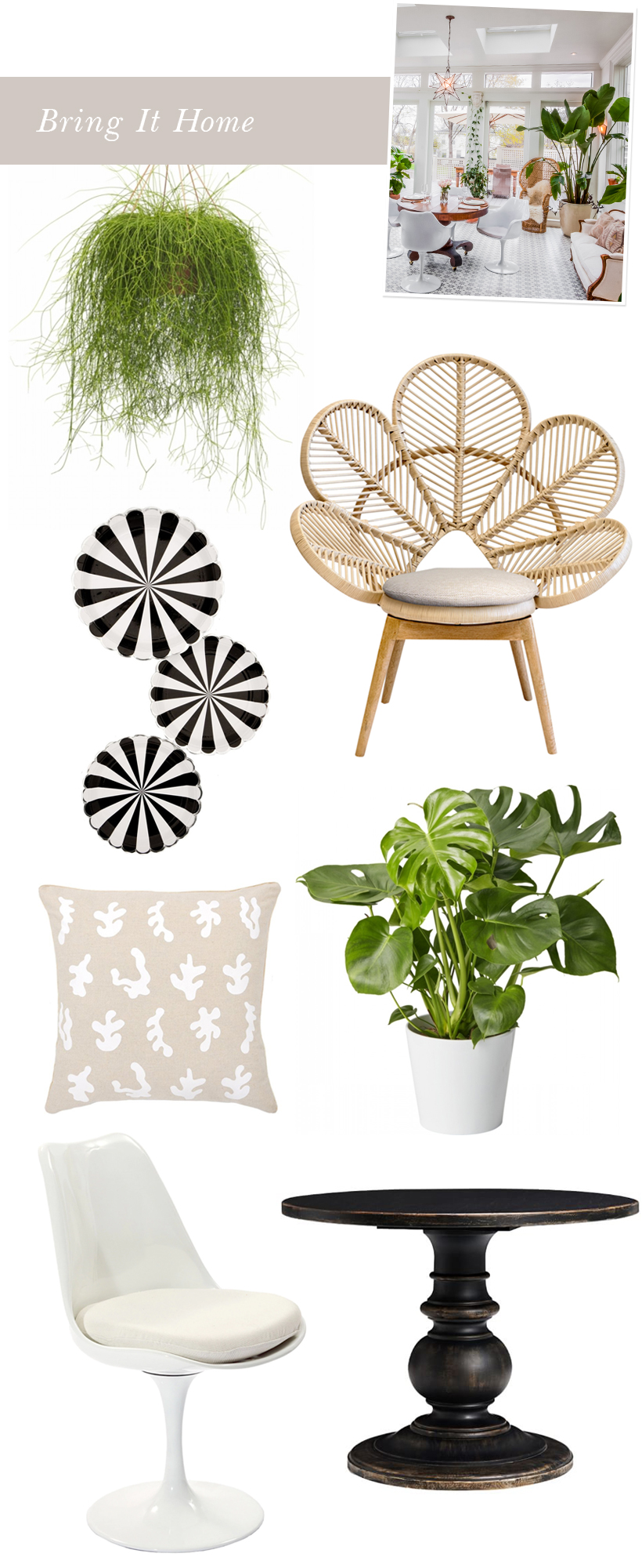 spring inspired interior design
