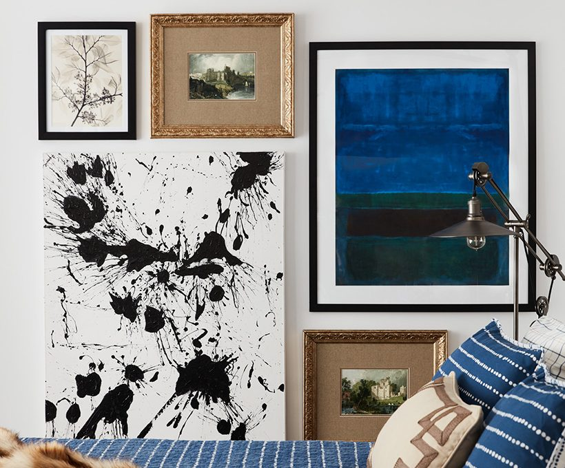 Curate a gallery wall.