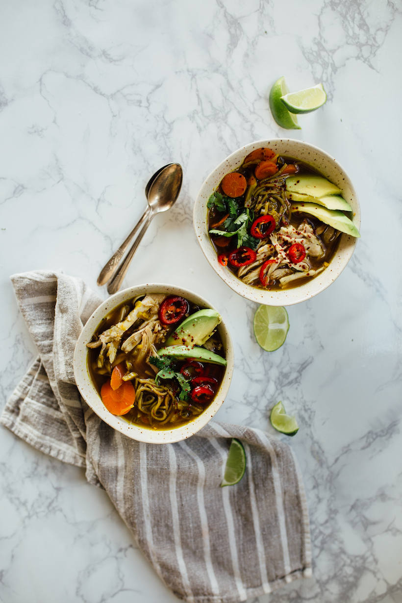 This **Turmeric Chicken Soup** is incredible healthy and delicious
