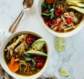 This **Turmeric Chicken Immunity Soup** is incredible healthy and delicious