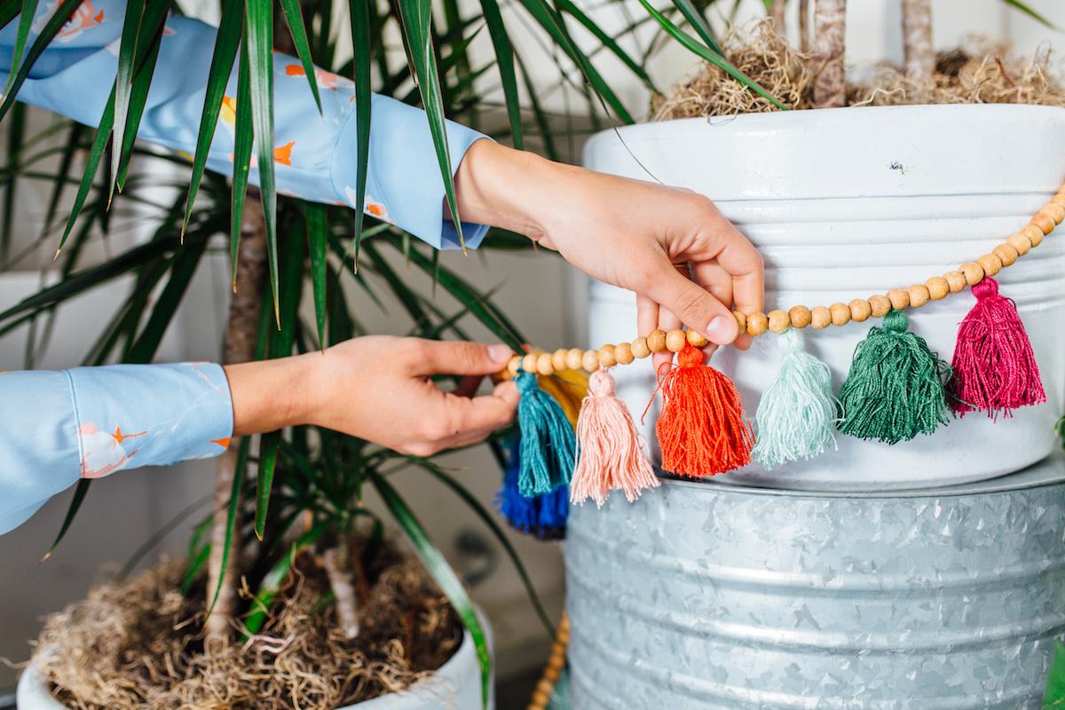 cutest tassel garland