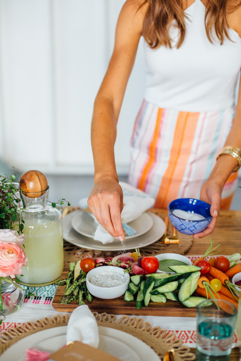 how to make the ultimate crudité platter