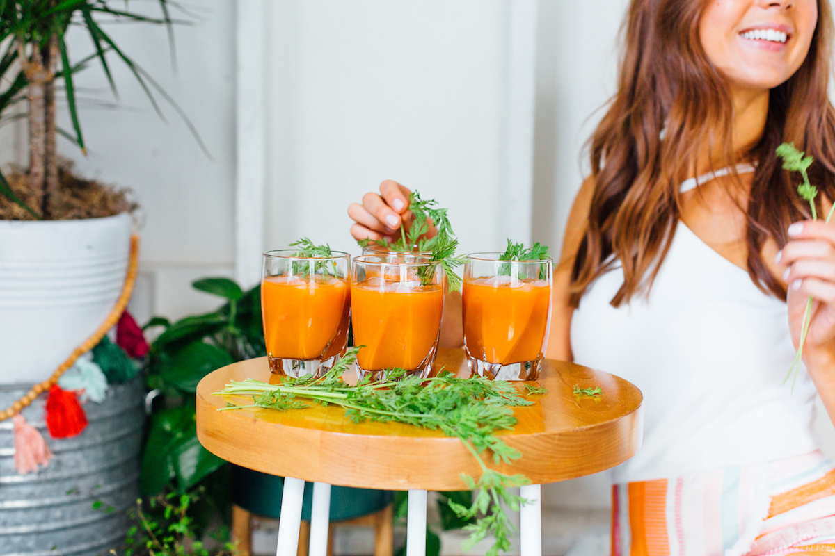carrot tequila cocktail (perfect for easter!)