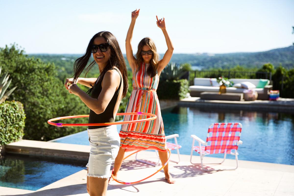 hula hoops!