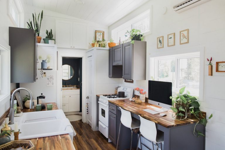An Inside Look At This Photographer S Impeccably Designed Tiny House Camille Styles,Bathroom Under Sink Storage Cabinet