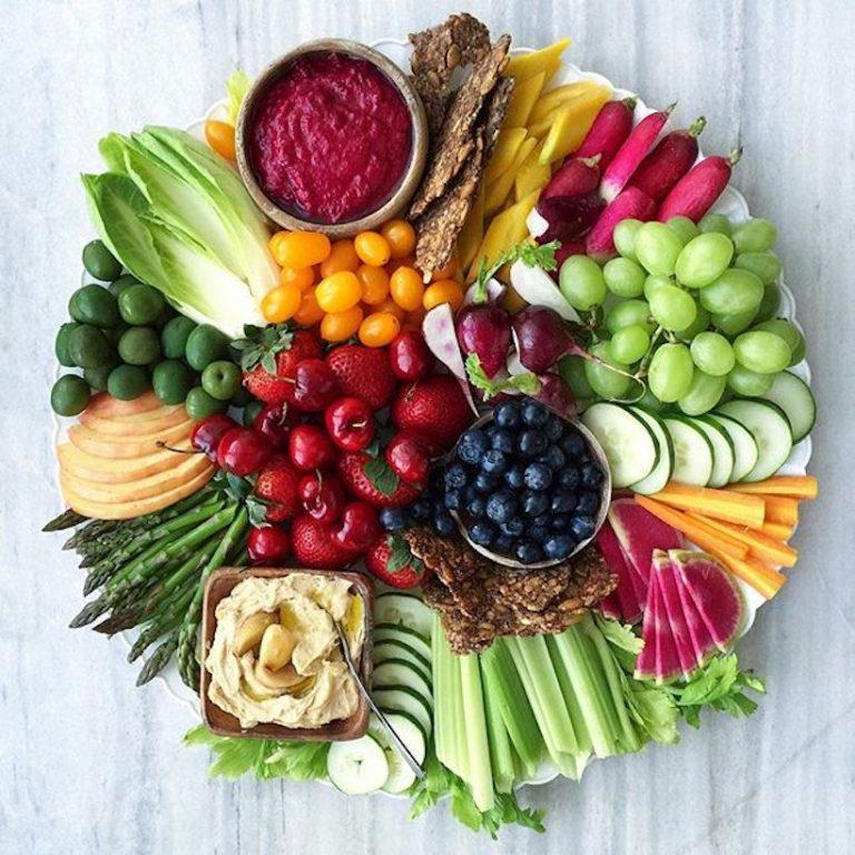 Lettuce platter