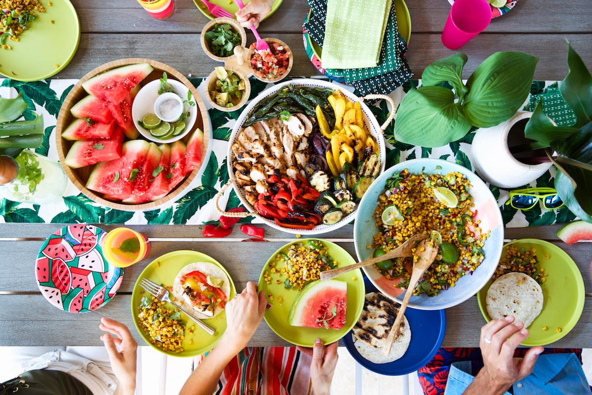 Backyard Bbq Dining Buffet Potawatomi Jpg