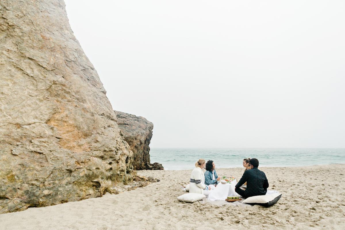 malibu beach picnic