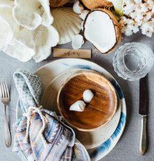the prettiest summer dinner table