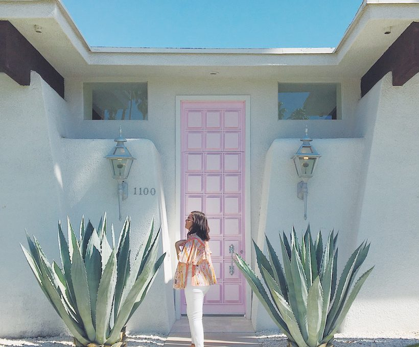 #thatpinkdoor palm springs