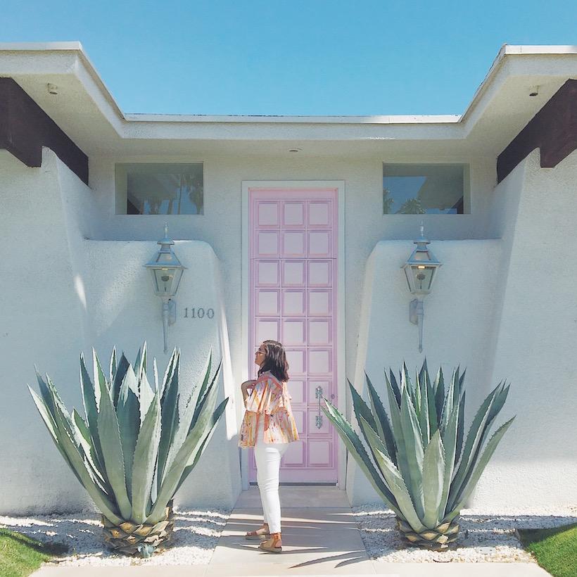 #thatpinkdoor palm springs