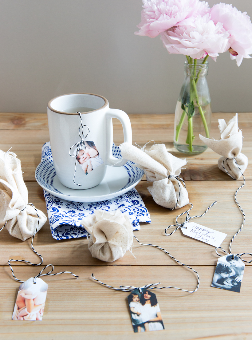 make your own sentimental tea bags