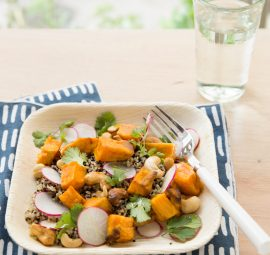sweet potato quinoa dish recipe from jugo