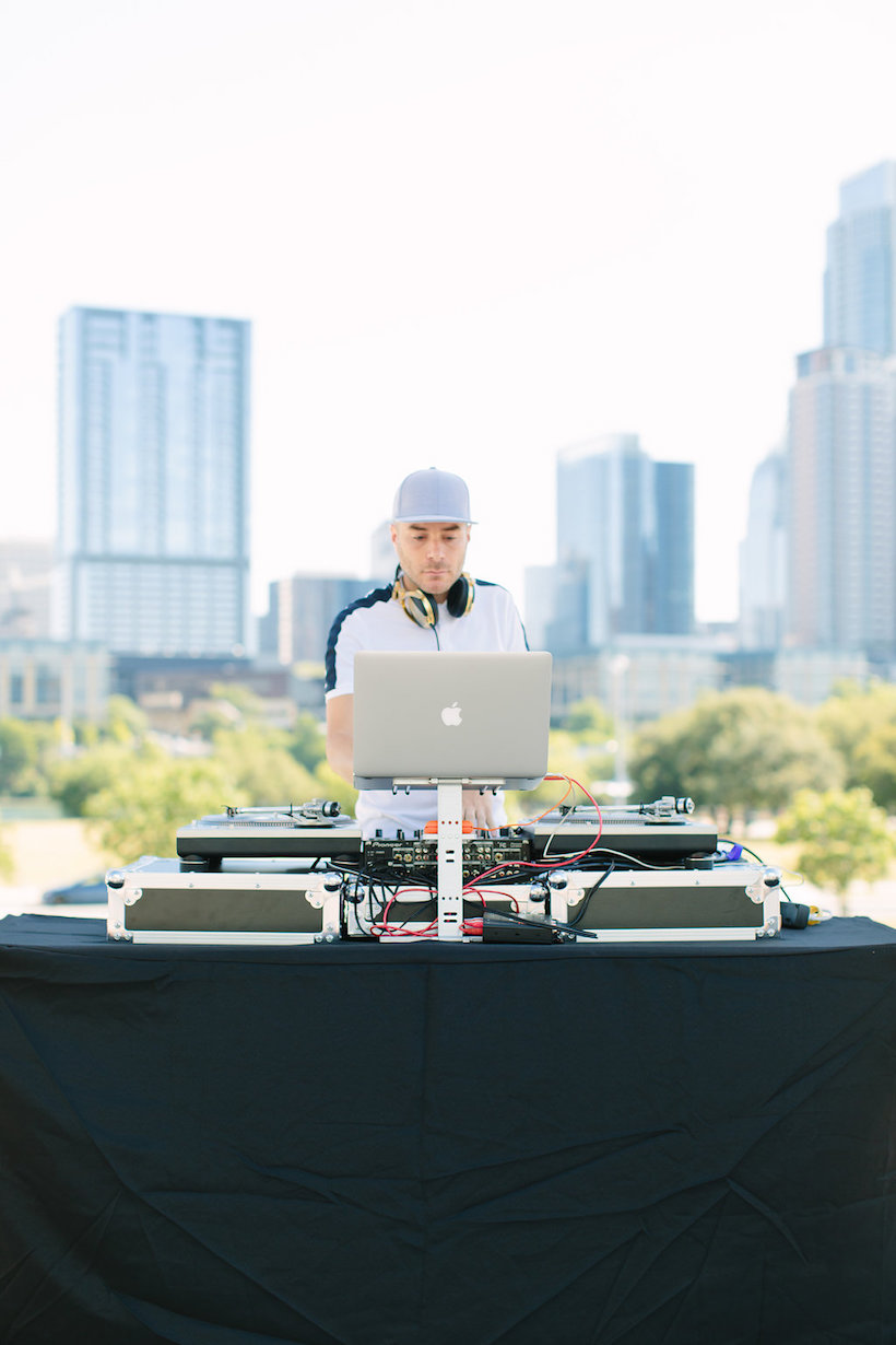 spinning beats in downtown austin