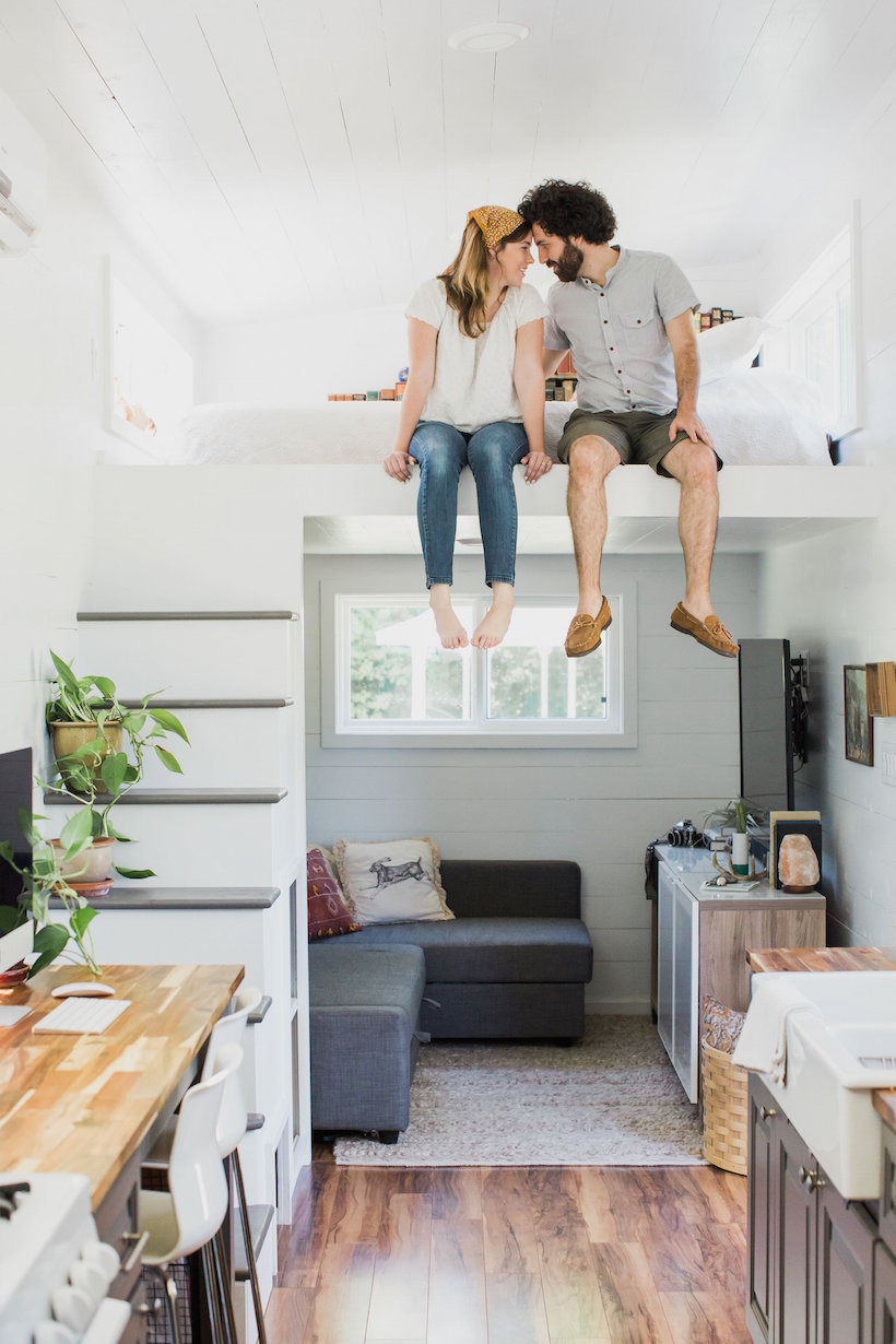 Kelly 39 S Impeccably Designed Tiny House Camille Styles