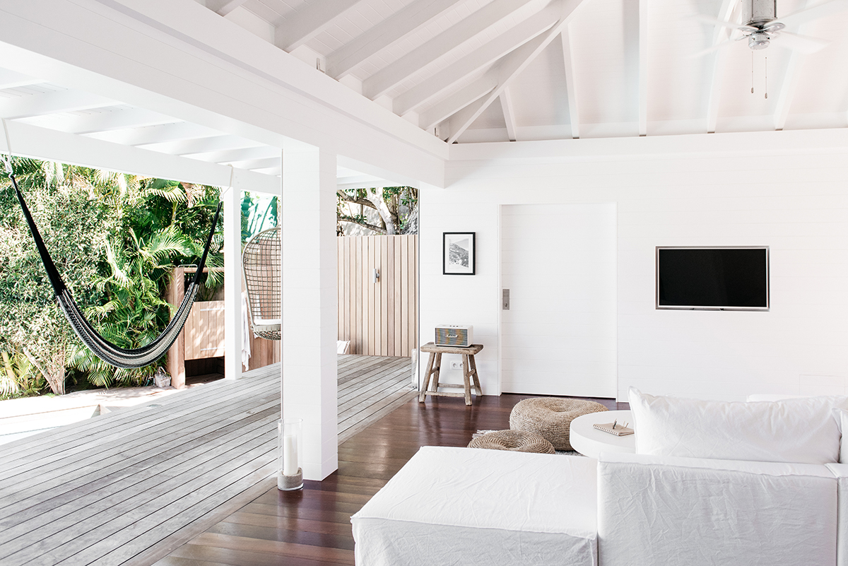 Kate Holsteins home, Villa Palmier, in St. Barts