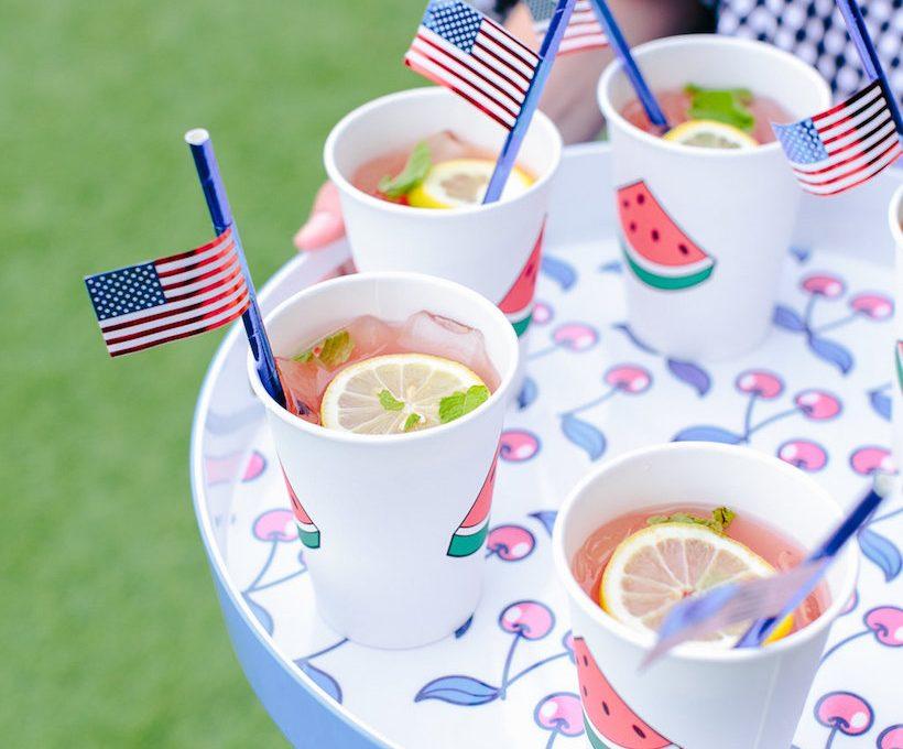watermelon & mint lemonade