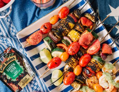 fourth of july skewer party!