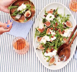 fig & burrata salad