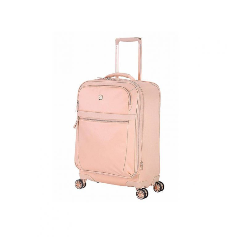 17 cute suitcases for your summer getaways camille styles for Swissgear geneva 19
