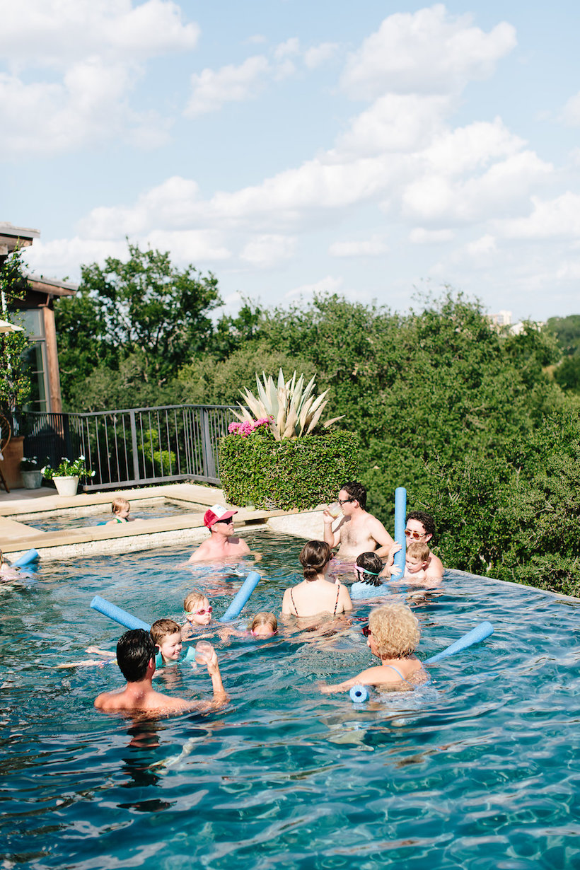 fourth of july pool party!