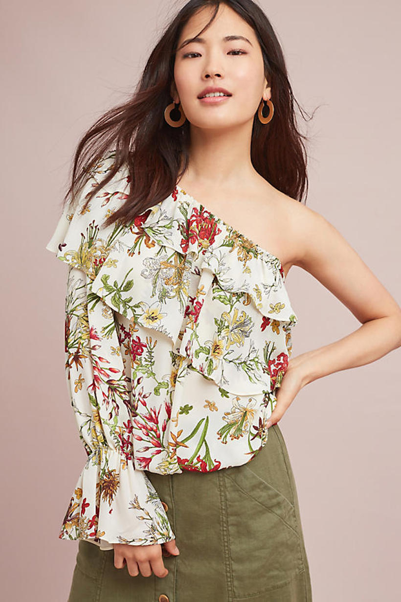 11 one-shoulder tops we want to add to our wardrobes